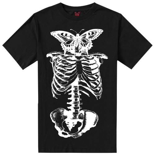 Playboi Carti Butterfly Skeleton Tee