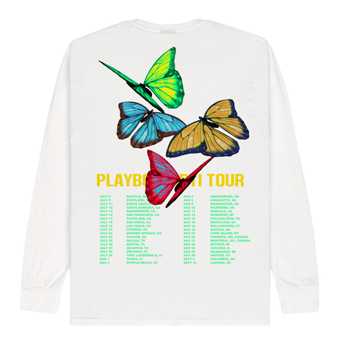 Playboi Carti Butterfly Tour LS Tee