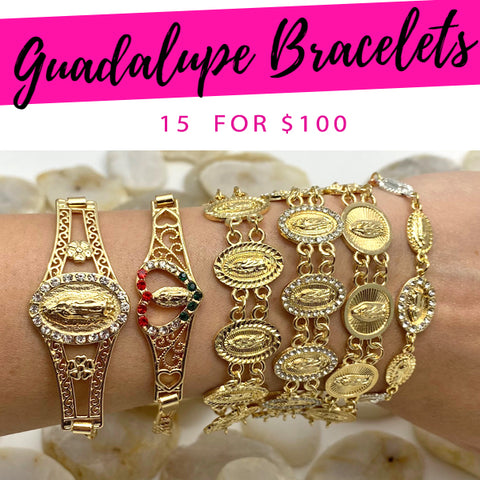 15 Guadalupe Bracelets ($6.67 each) for $100
