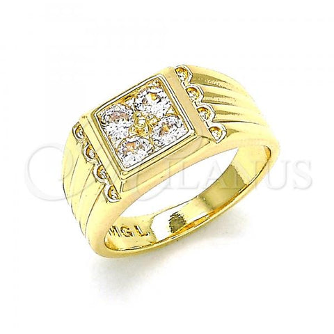 Gold Layered Baby Ring, with Cubic Zirconia, Golden Tone