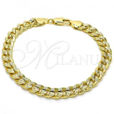 Gold Layered 04.213.0159.08 Basic Bracelet, Polished Finish, Golden Tone