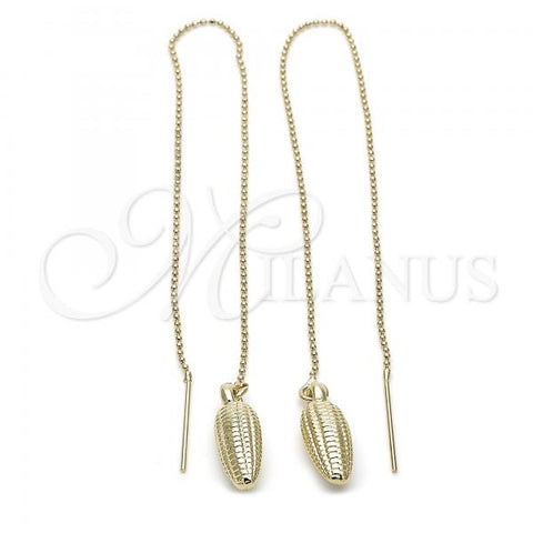 Gold Layered 5.116.007 Threader Earring, Golden Tone