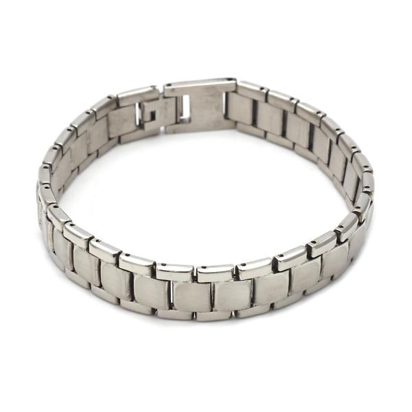 Stainless Steel 03.63.1649.08 Solid Bracelet, Polished Finish, Steel Tone
