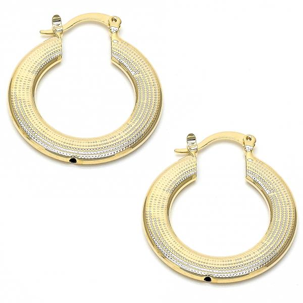Gold Layered 02.101.0010 Medium Hoop, Golden Tone