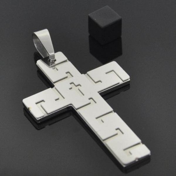 Stainless Steel LM90983 Religious Pendant, Steel Tone