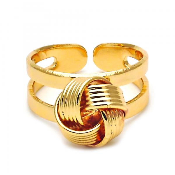 Gold Layered 01.150.0001 Toe Ring, Polished Finish, Golden Tone (One size fits all)