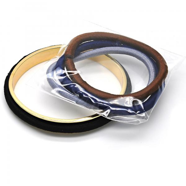 Gold Tone Individual Bangle, Golden Tone