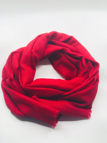 Cherry Red Cashmere