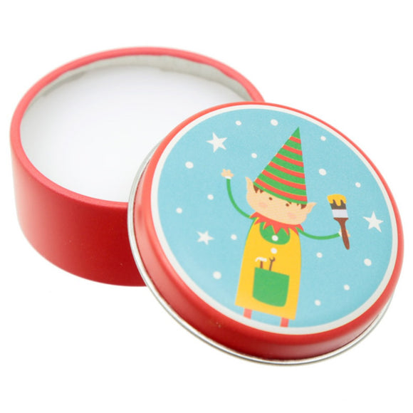 Funky Festive Lip Balm in a Tin