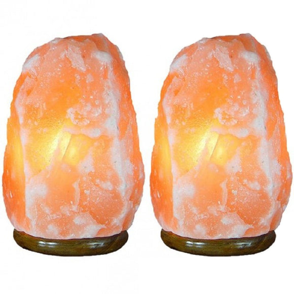 Rock Salt Lamp 2-3 KG (Pack of 2)