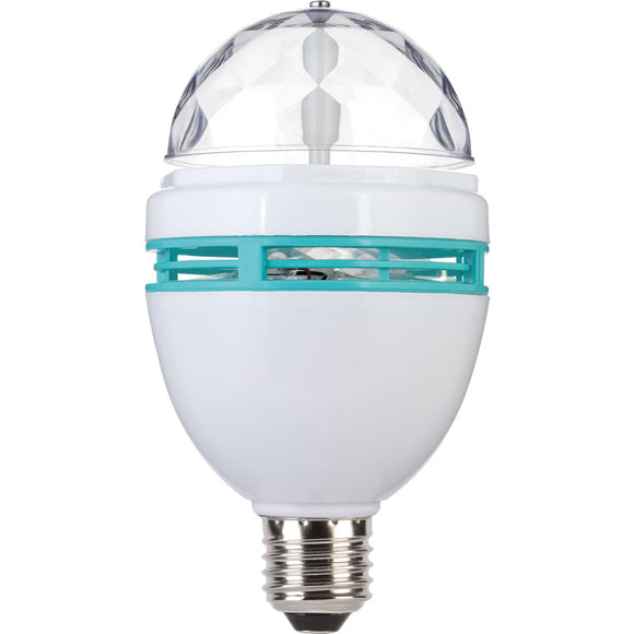 LED Disco Coloured Light Bulb