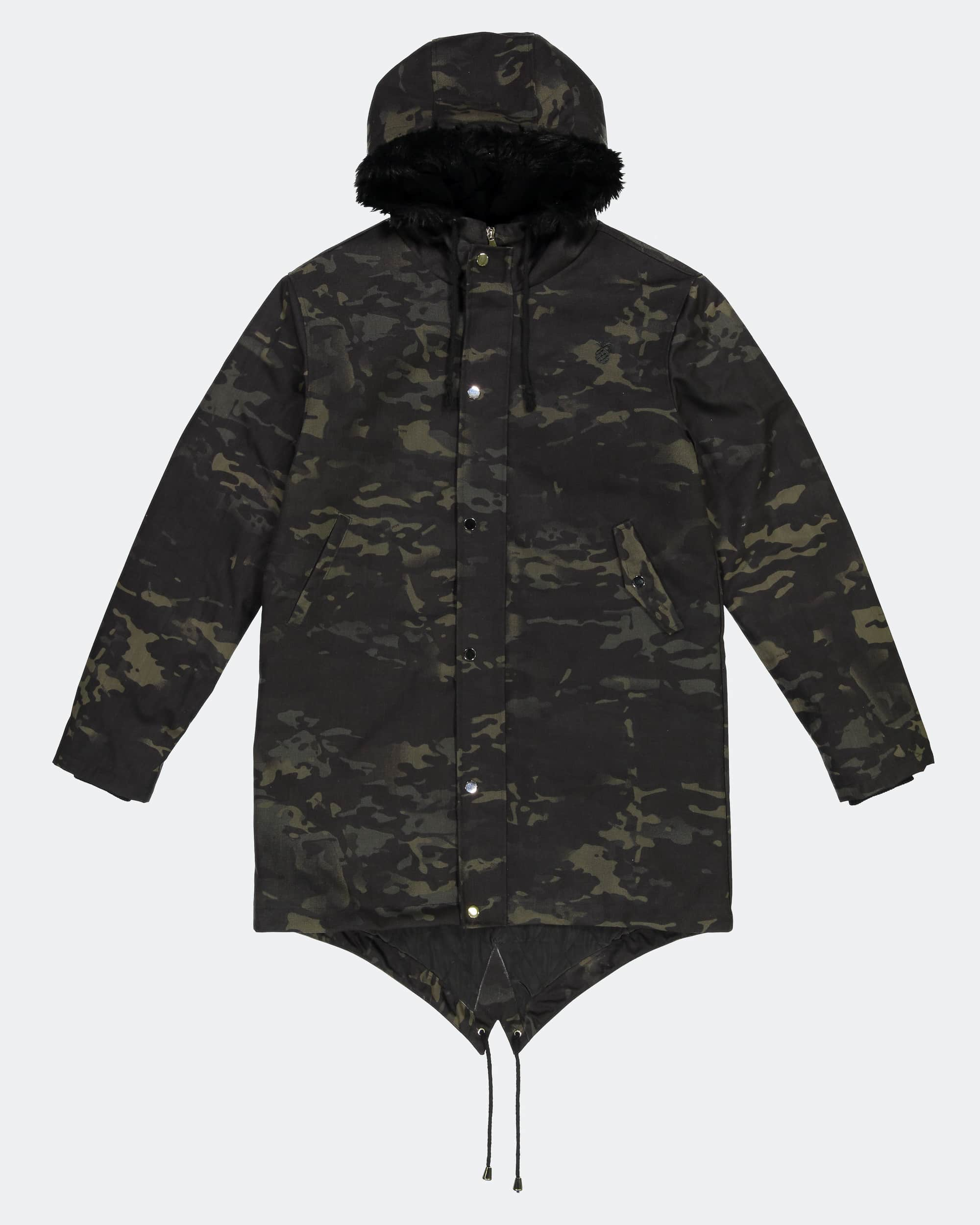 Multicam Heavy Parka Black