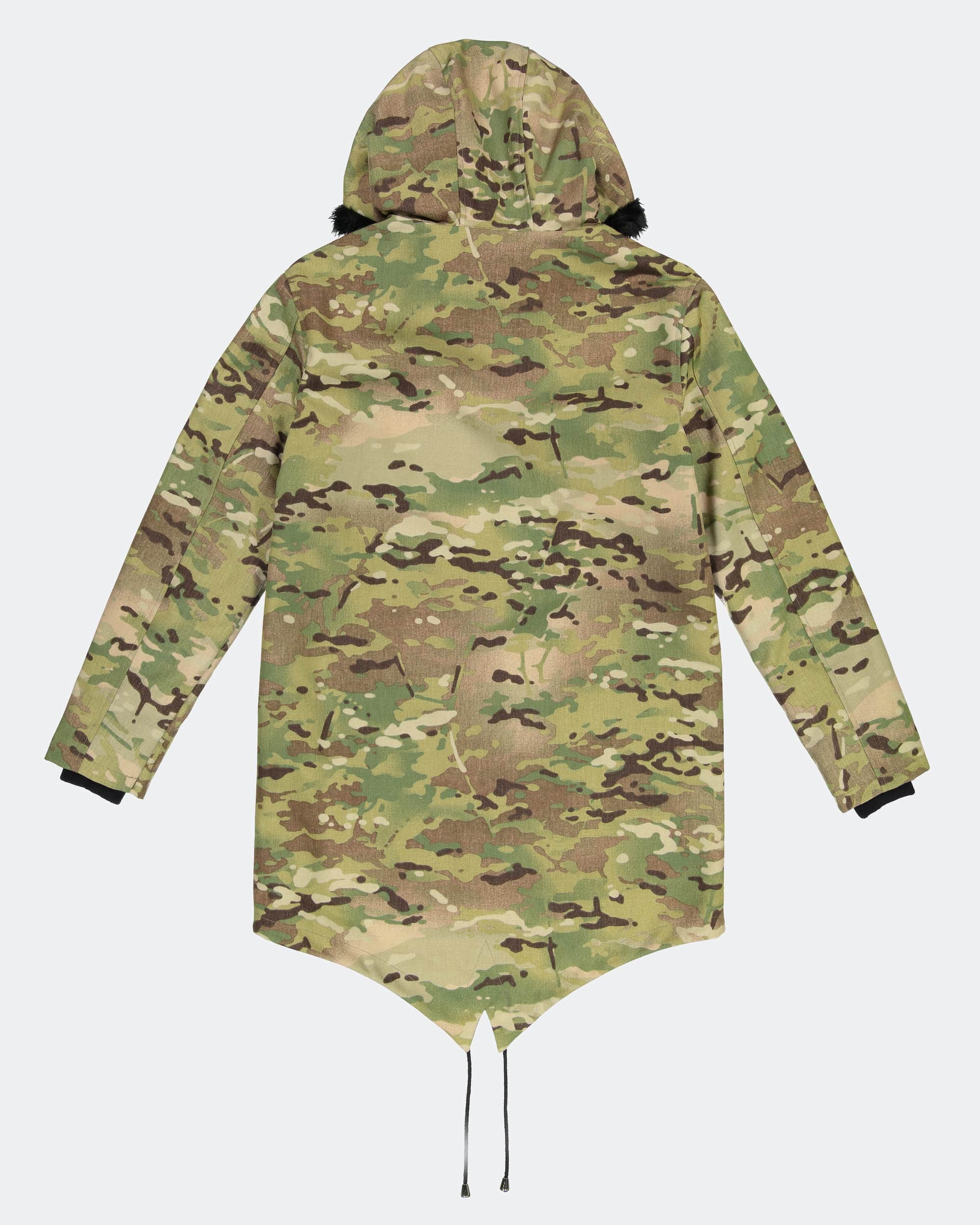 Multicam Heavy Parka