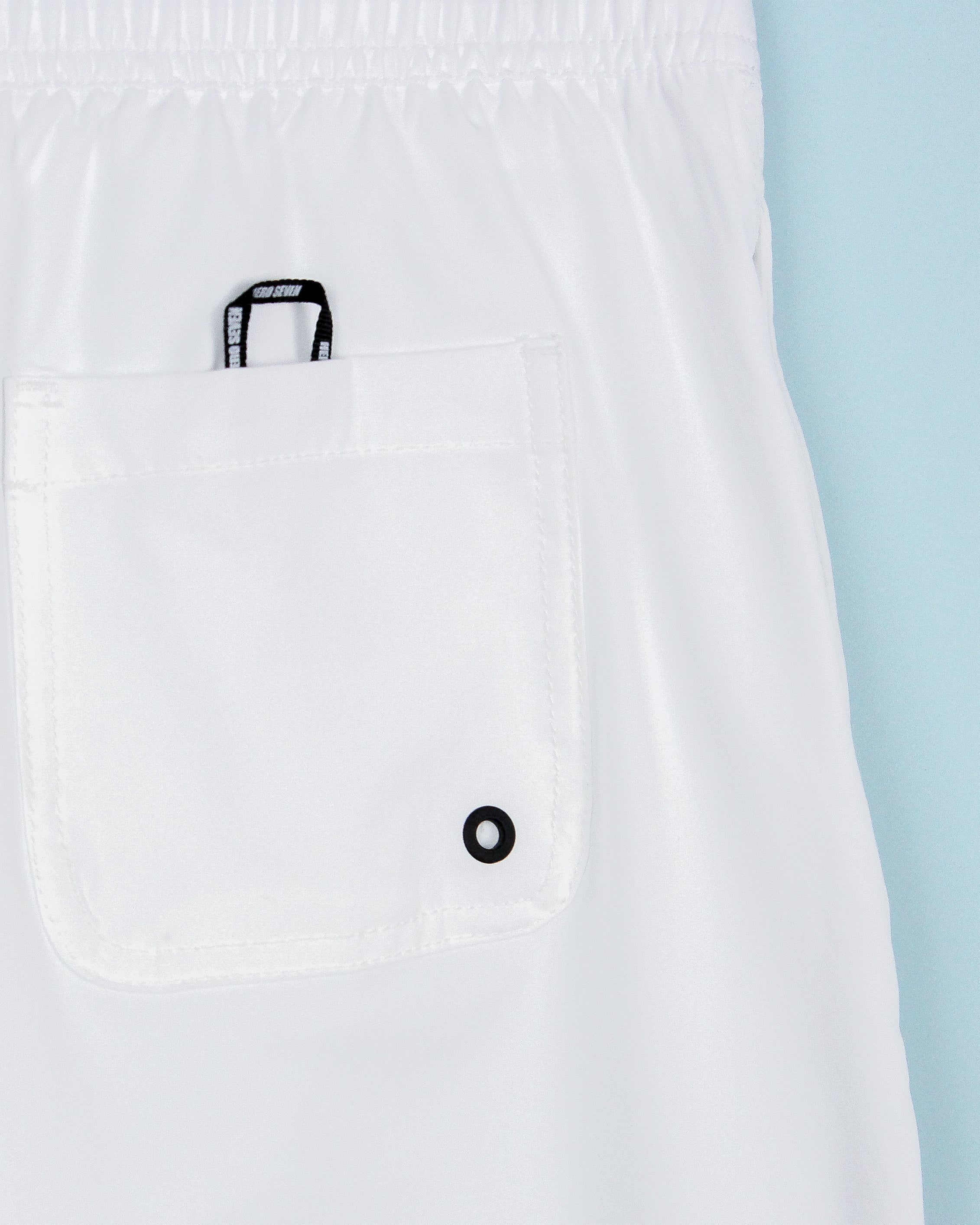 HeroSeven Swim Shorts White
