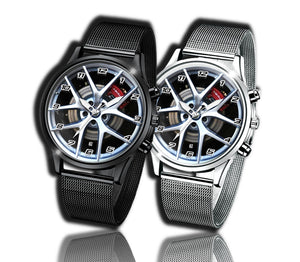 Alfa romeo stelvio qv quadrifoglio watch wristwatch giulia red callipers brembo elegant casual