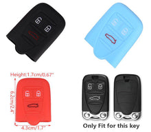 Silicone Rubber Car Key Cover Case For alfa romeo 159 Brera Spider High Quality 3 Buttons 7 Colors