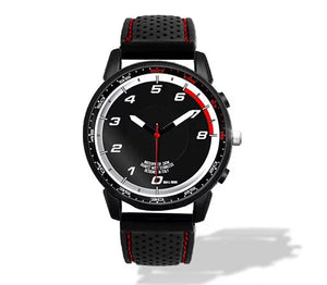 Giulia QV REV COUNTER Silicone band watch
