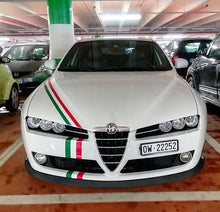 Italian Flag stripe sticker 1m x 15cm