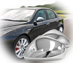 Alfa Romeo 159 Giulietta Chrome Alloy Mirror GENUINE original TI mirror covers high quality