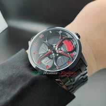 3d wheel watch alfa romeo giulia stelvio qv quadrifoglio verde watch wristwatch orologio original