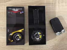 alfa romeo giulia qv quadrifoglio verde watch watches wristwatch orologio yellow disc brembo calipers
