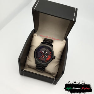 Alfa Romeo 3D wheel watch wristwatch orologio