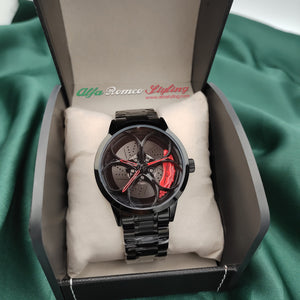 alfa romeo 147 156 159 mito giulietta 33 155 166 brera giulia stelvio gtv gta gtam spider wheel watch red calipers