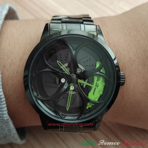 alfa romeo gta gtam qv 3D wheel watch green calipers quadrifoglio verde