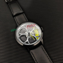alfa romeo giulia stelvio mito giulietta 159 8c 4c brera accessories watch wristwatch orologio yellow calipers