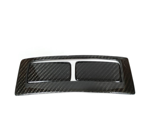 This is a carbon fiber Cup Holder trim cover for the Alfa 147 GT Since it is a cover it will be mounted over your oem part, this part will come with a high UV coated finish, it will be installed with a 3M adhesive tape that is included.  -Real 3k dry carbon fiber textured 2x2 twill weave -Brand New Gloosy Carbon Fiber -UV coating protected -Automotive 3M adhesive tape included -Prepreg technology  Package Included: 1x Alfa 147/GT Carbon Cup Holder Trim Cover