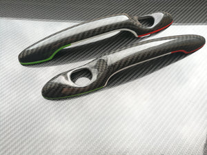 alfa romeo 156 Carbon fiber Italy Design Door Handles Trim Cover