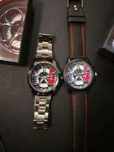 Giulia QV Wheel Red Calipers Burnished Steel watch