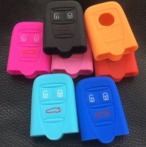 159 Brera Spider Silicone Key Cover 3 Buttons