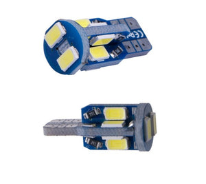 2X  LED W5W T10 Canbus 10 SMD 5730 Lights