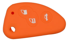 alfa romeo 147 156 166 GT Silicone Key Cover 3 Buttons orange