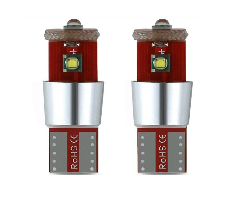 2X  LED W5W T10 Canbus 3 SMD Lights