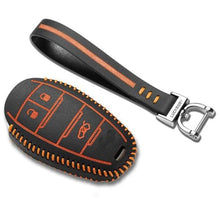 Alfa Romeo Giulia Stelvio Key Case Keycase Key Fob Ring Key Bag keybag leather blue white red orange Key Cover Keycover chiave shell chiave borsa chiave caso chiave coperchio cuoio orange arancia