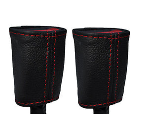 Give your Alfa Romeo Giulietta interior premium look with high red stitched quality leather seatbelt stalk covers.  Product specification:  Material: real leather   Easy instalation    Package includes:  Red stitched real leather seatbelt cover