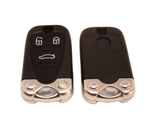 3 BUTTON FLIP KEY SHELL WITH UNCUT BLADE AND BATTERY HOLDER FOR ALFA ROMEO 159 BRERA    Feature: Materials: Plastic Buttons:3 Button Key Blank: Yes  Logo Sticker:  No Transponder Chip:  No Electronics/Battery:  No Color: As the picture shows 100% Brand New Package Included:   1 X  Key Shell