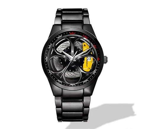Giulia QV Wheel Yellow Caliper Nero Corse Watch