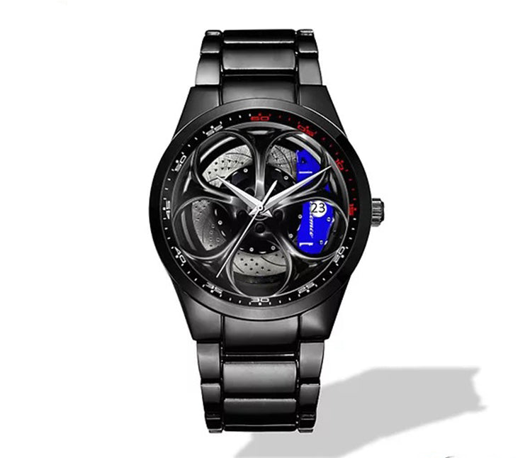 Giulia QV Wheel Blue Caliper Nero Corse Watch