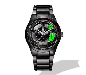 Giulia QV Wheel Green Caliper Nero Corse Watch