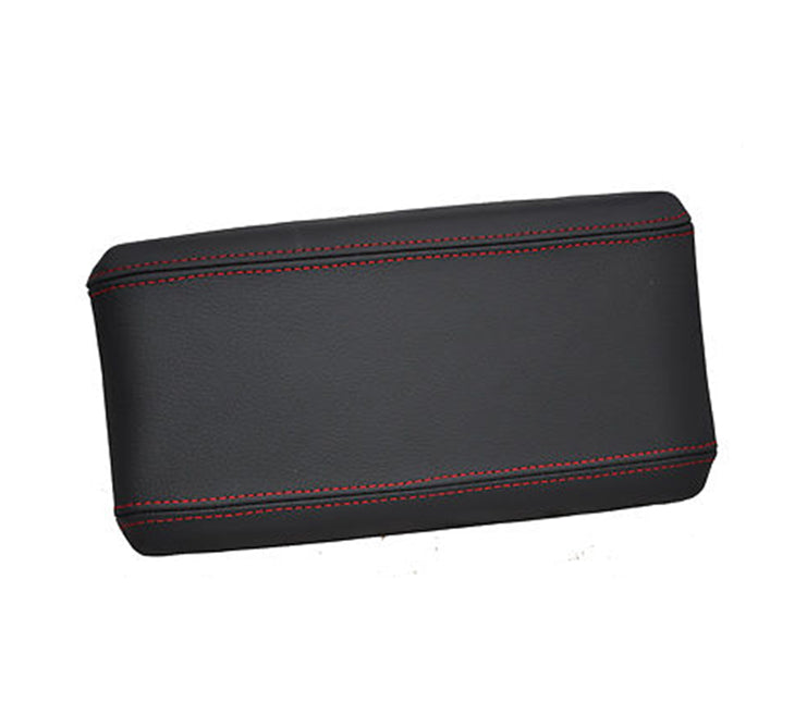 Give your Alfa Romeo 147 interior premium look with high red stitched high quality leather cover for your armrest.   Product specification: Material: genuine leather    Easy instalation      Package includes:    Armrest genuine leather cover