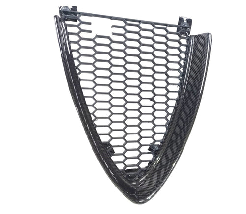 Giulia style carbon fiber grill for the Alfa romeo 159 oem scudetto mask