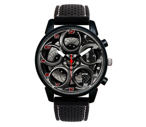 Alfa romeo watch 4C Wheel Carbon Calipers silicone band stelvio quadrifoglio wristwatch orologio