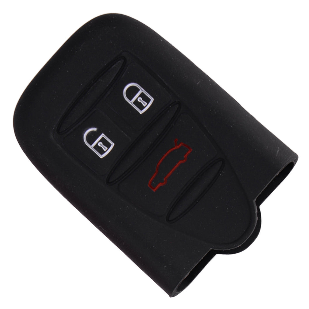 alfa romeo 159 Brera Spider Silicone Key Cover 3 Buttons black