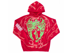 Puff Angel Hood ~ Red