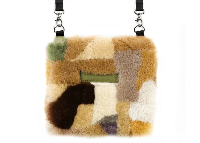 Patchwork Multi Camo Fluffy