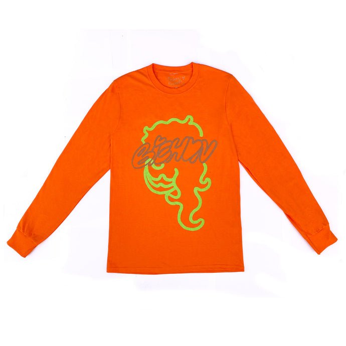 BP Long Sleeve ~ Orange
