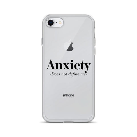 Image of Anxiety Does Not Define Me iPhone 6/7 Cases - LifeSpirit | Sidi Life Products - Accessories - #collection_type#